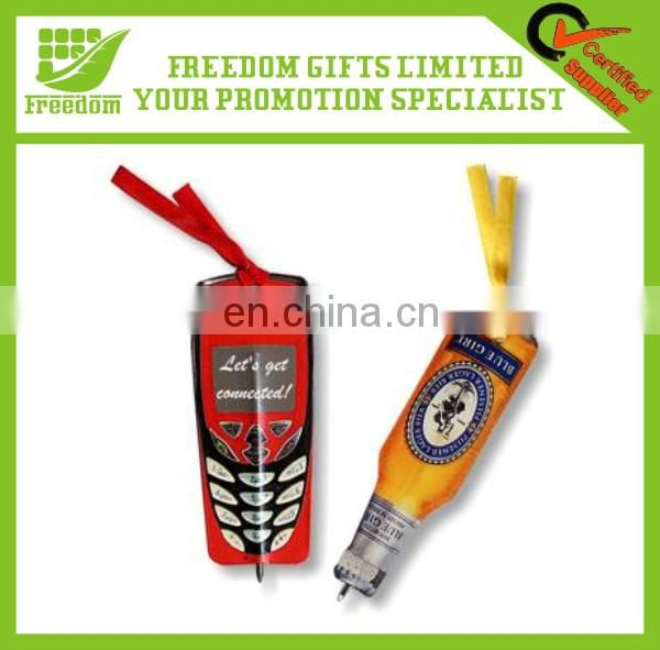 Promotional Custom Flat Paper Bookmark Pen