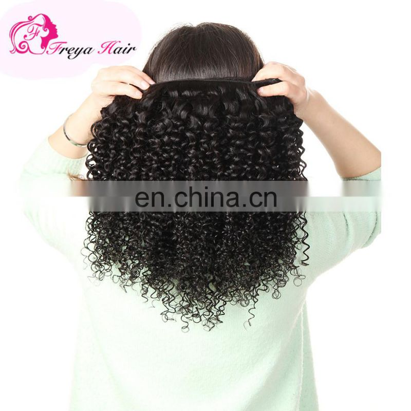 Qingdao Freya hair cheap factory price african human hair extensions