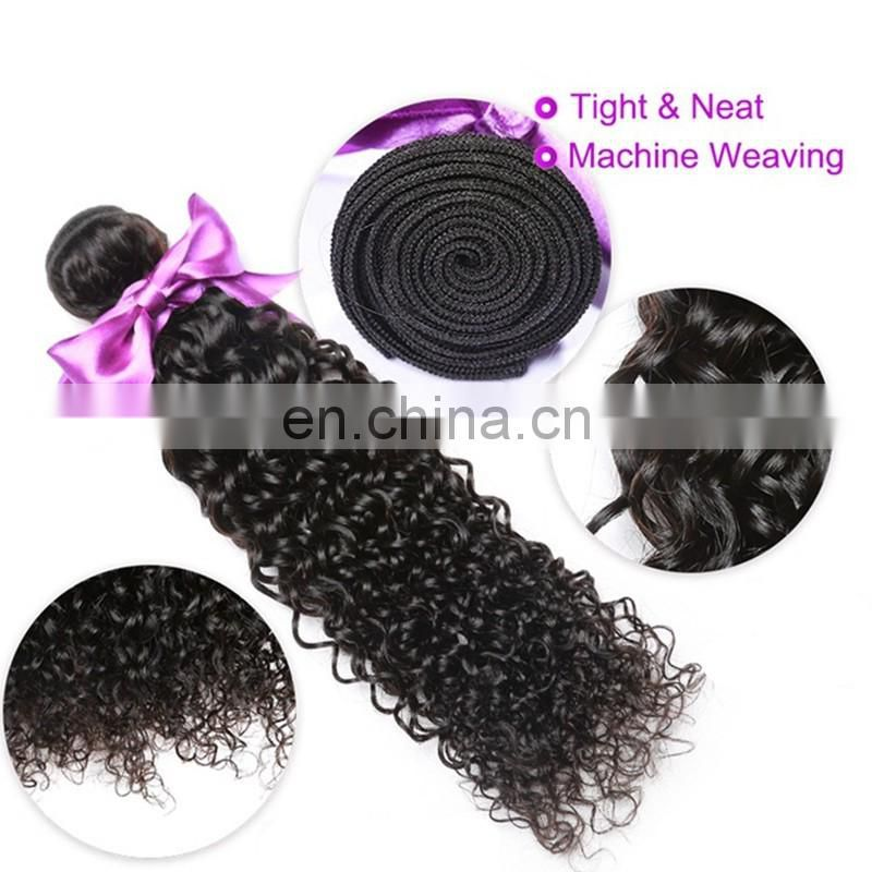Top quality 7a grade human hair weaving afro kinky style hair weft cheap virgin brazilian hair extensions for black women