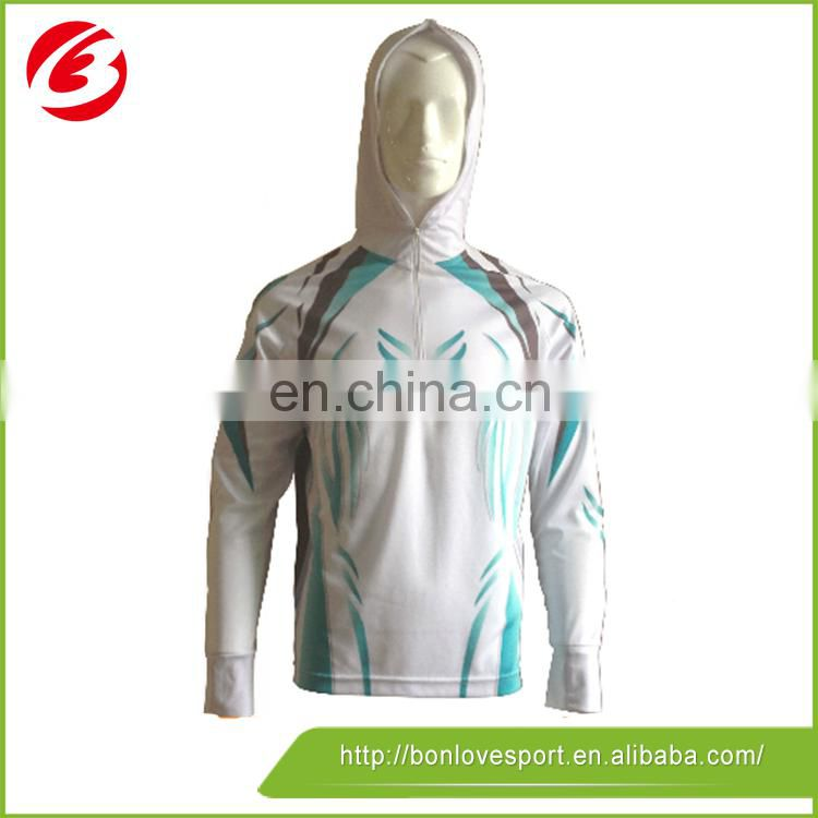 OEM/ODM high quality fashion long sleeve fishing shirts