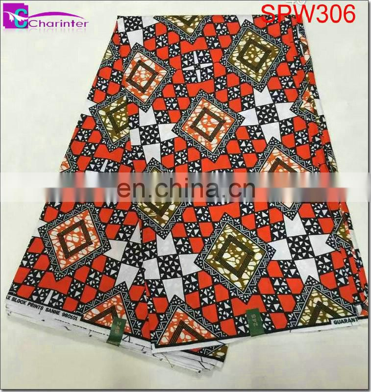 african fabric super wax SPW305