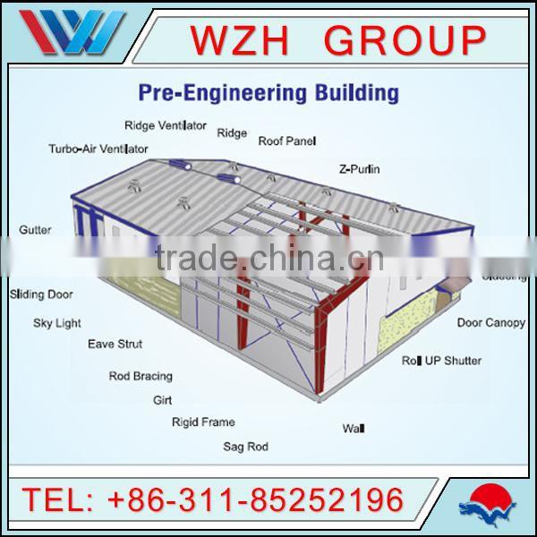 Steel Structure Garden Shed Eps Sandwich Roof Panel Farm
