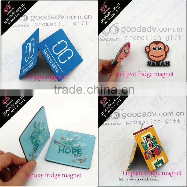 Hot sale free style tin fridge magnet printing machine / fridge magnet wholesale