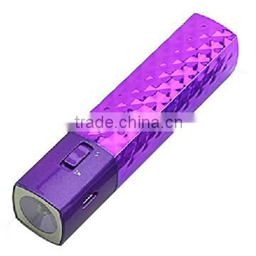 2015 new innovative product Customized capacity factory price gift USB Mascara shenzhen power bank