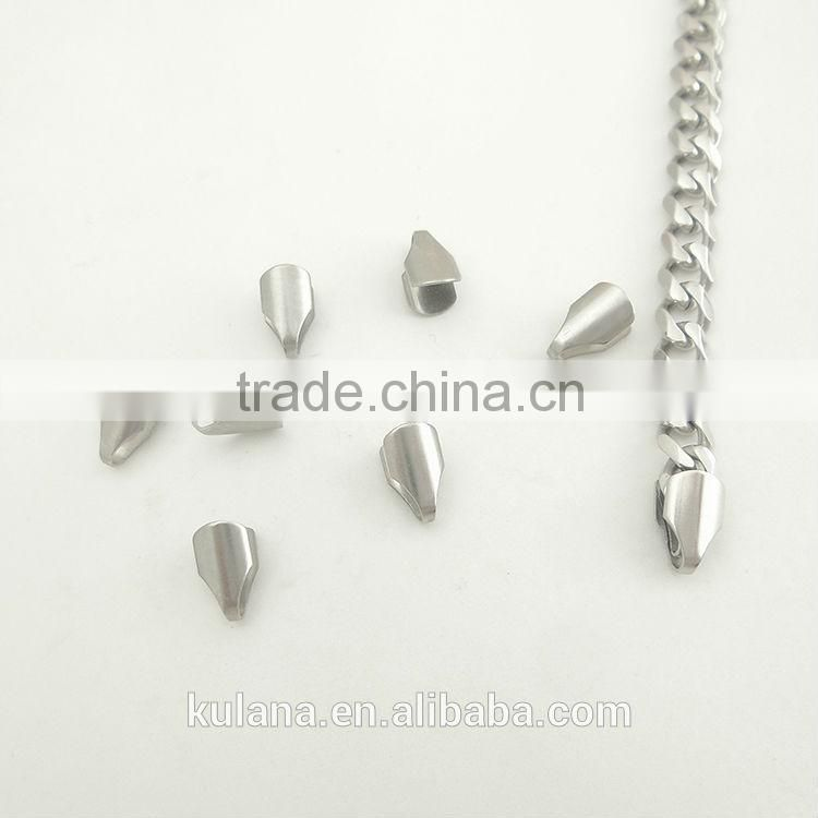 40#stainless steel bails clasp, pendent clasp jewelry findings