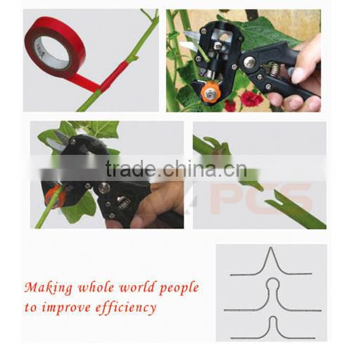 Professional Nursery Grafting Tool Pruner Knife With 2 Extra Blades & Tape
