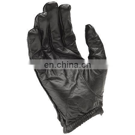 True Leather Police Gloves w/Kevlar Lining