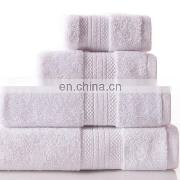 100% cotton hotel bath towels organic towel china cotton towels
