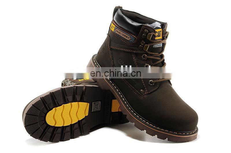 fashion genuine leather casual high neck shoes for men