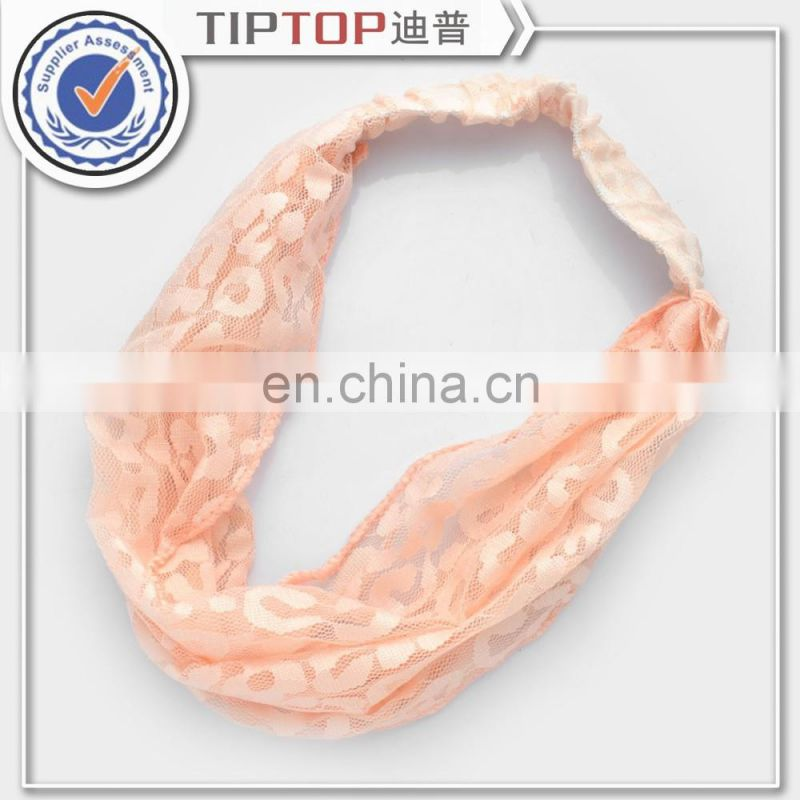 New Arrival Women Chiffon Turban Twist Head Wrap Headband Twisted Knotted Soft Hair Band Hot