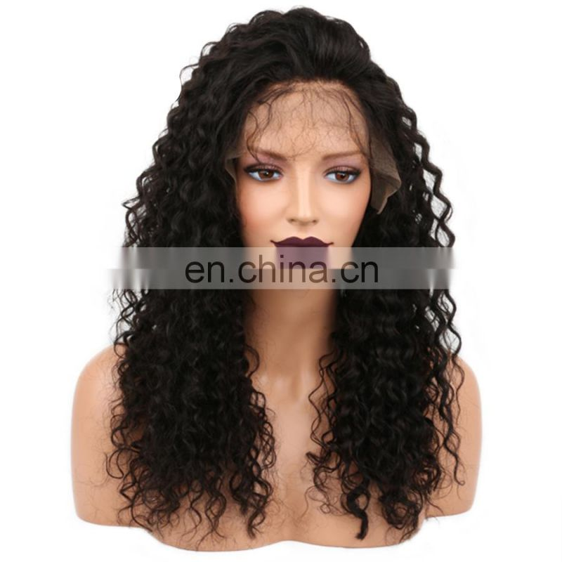 Front lace wig human hair wigs for black women