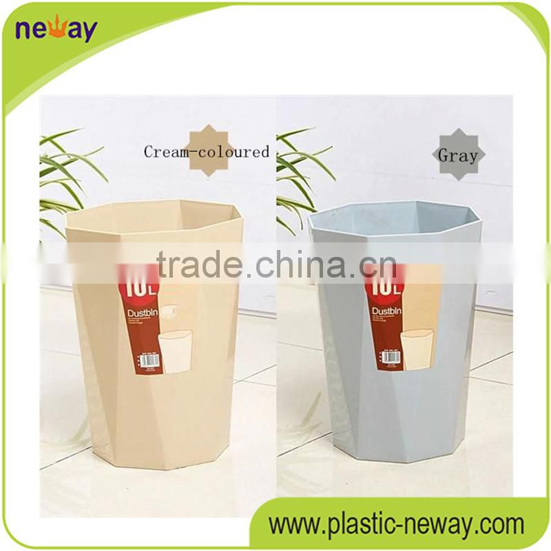 PP home use Stocked 8L novelty advertising mini trash can