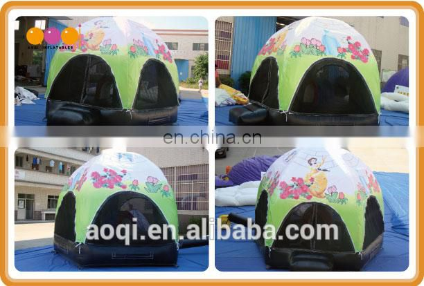AOQI cartoon advertising dome tent inflatable for sale