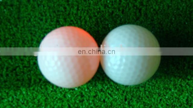 Advertising logo printing light up golf ball glovion golf flashing ball logo print led golf ball