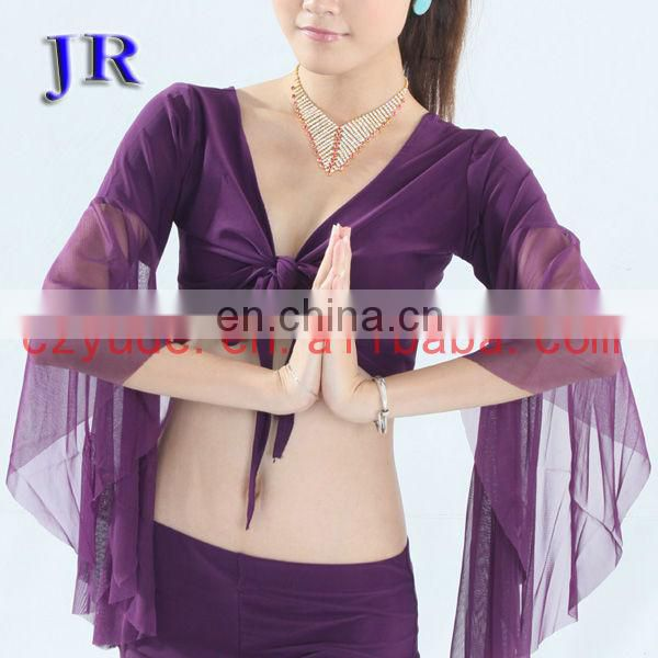 Beautiful turkish performance women belly dance cardigan wear top clothes S-3031#