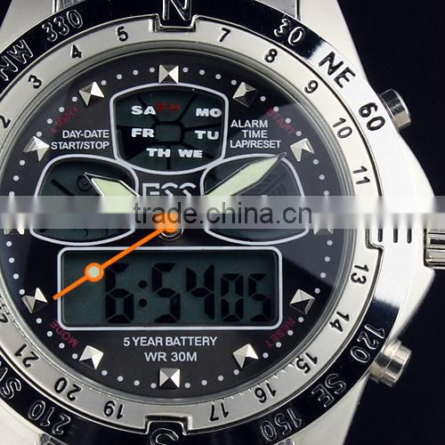 WM005-ESS 2014 Men Analog Digital Wholesale Watch