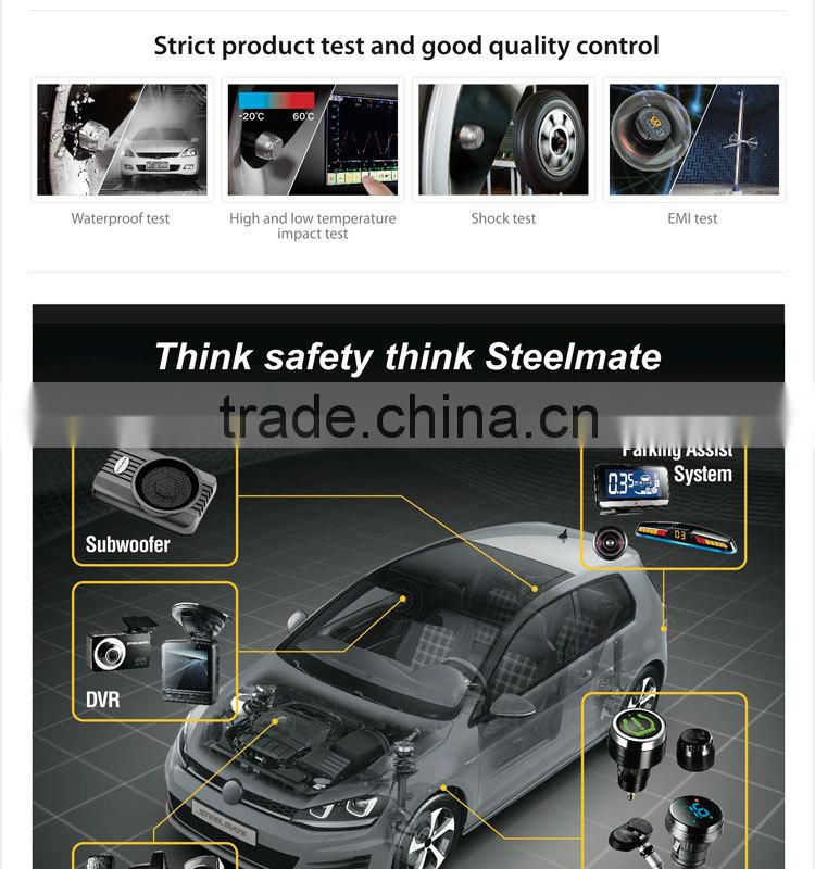 2015 Steelmate TP-74B lcd monitor tpms lowes tire inflator,pressure gauges kpa, automobile