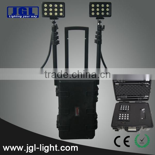 Portable Guangzhou emergency response lighting RLS512722-72w rechargeale led work light
