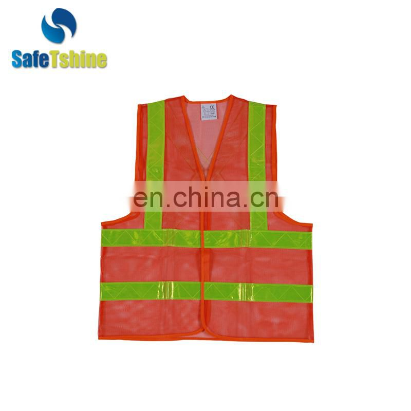 Excellent Quality Personal Safety Saftey Vest Reflective