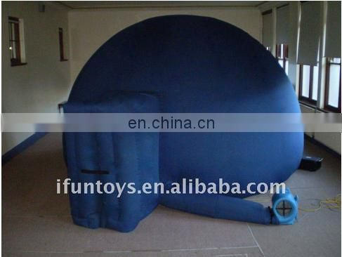 Mobile Inflatable planetarium dome for digital projection/air planetarium dome
