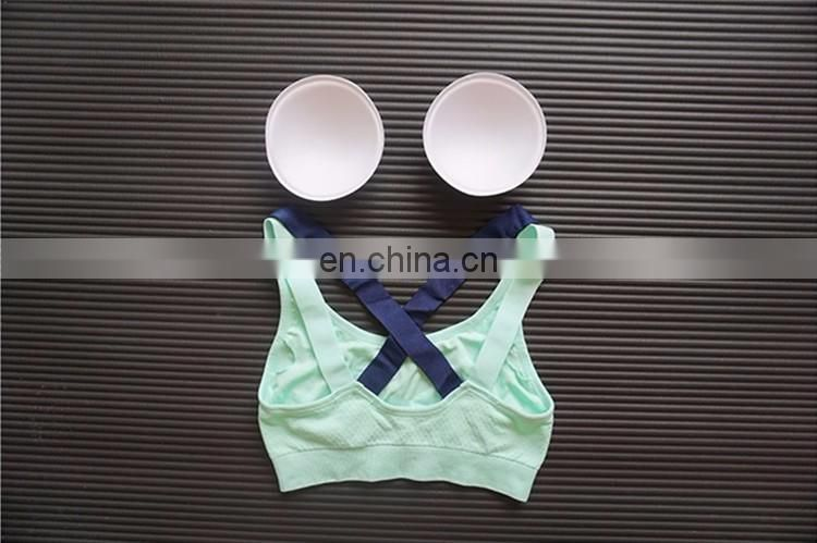 High Quality Backless Cross Fitness Tank Tops Gym Yoga Women Sports Bra