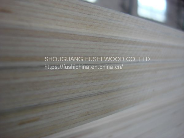 hot sale 15mm  bleached commercial plywood board price made in China Image