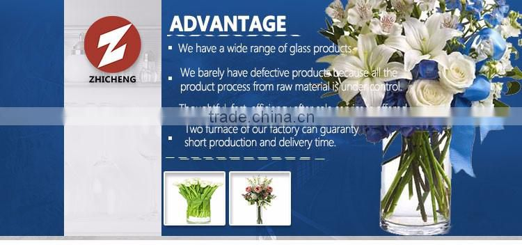 branded scented decorative glass vase