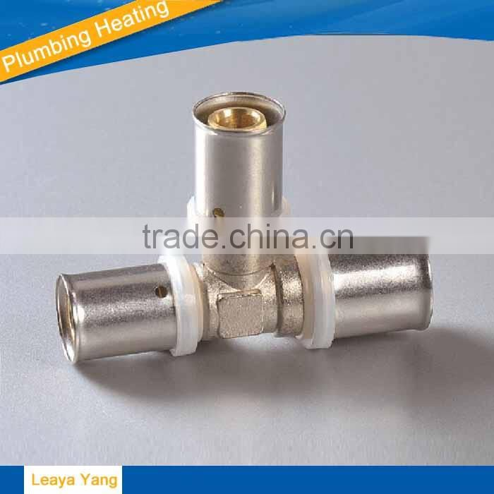 PAP brass fittings aluminium plastic pipe tube copper connector brass compression hose fitting brass