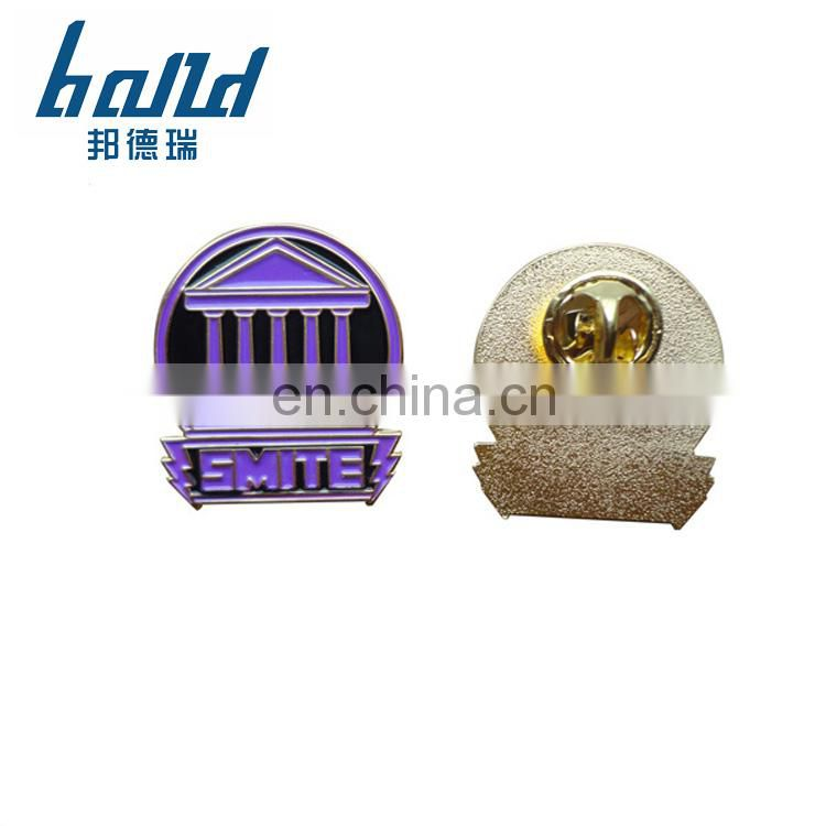 2018 Fashion soft enamel lapel pin for sales