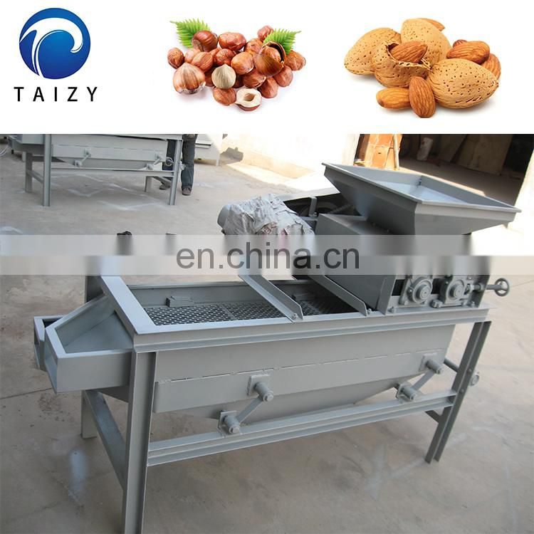 Hot selling Almond shelling machine Almond cracker machine  Almond huller machine for sale