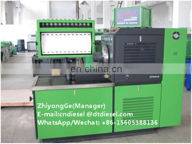 high quality 12PSB Diesel Injection Pump Test Bench and best service