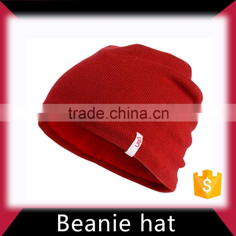 Colorful hip hop beanies knitted beanie hat manufacturer