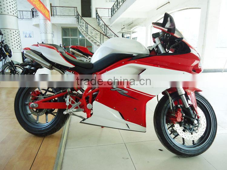Two wheeler High quality Gas Powered 300cc Racing Bike for