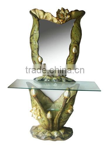 Hot sale modern glass console table