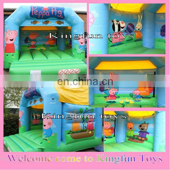 Double lane inflatable wet/dry slide game