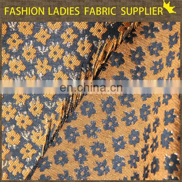 Onway Textile 2014 high density 100% polyester brocade jacquard fabric , chenille jacquard woven fabric