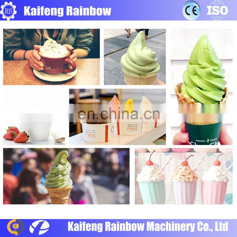 commercial use low cost automatic ice cream maker machine