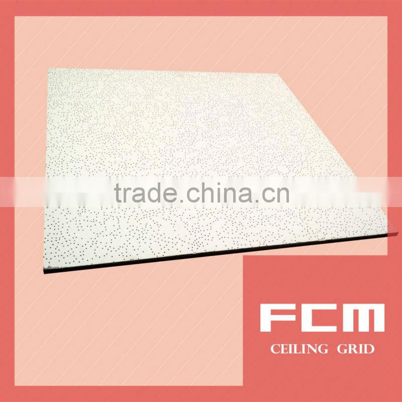 acoustic ceiling decoration mineral wool board