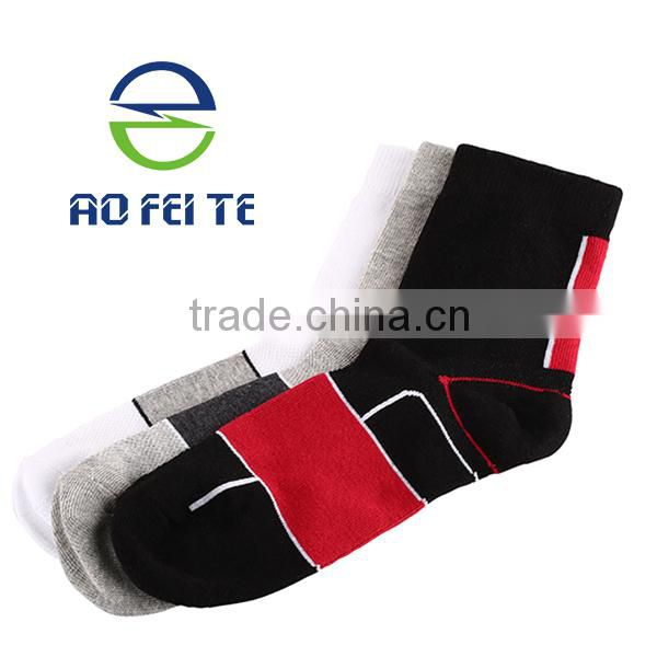 Best Selling Mountain Bike Bicycle Racing Calf Sock Deodorant Footwear Long Cycling Socks Image