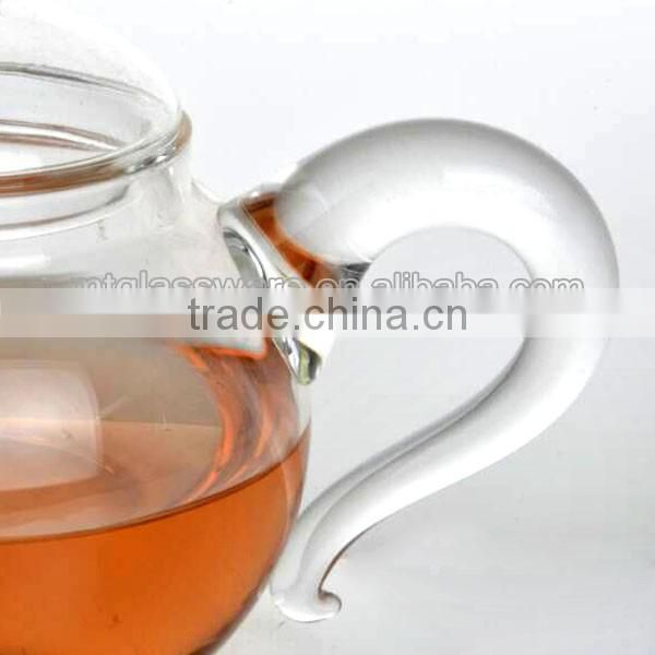 tea pot glass/glass infusion tea pots
