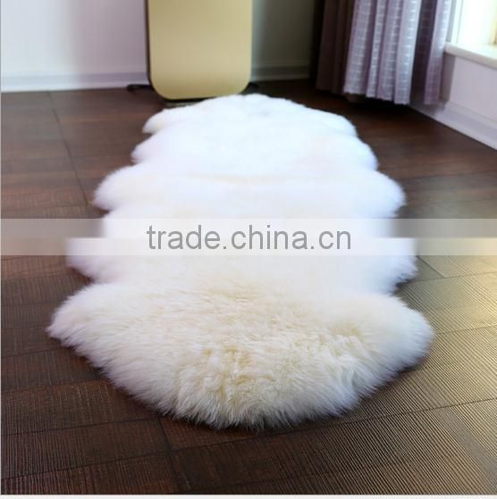2017 hot sale cheap fashionable long hair pile faux fur rugs, faux sheepskin carpet rugs