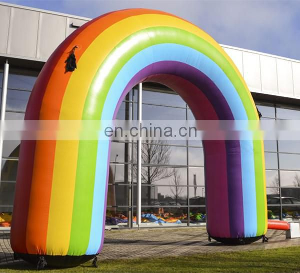 inflatable rainbow arch for event decoration
