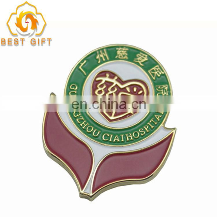 Personalized wholesale fashion metal button badge