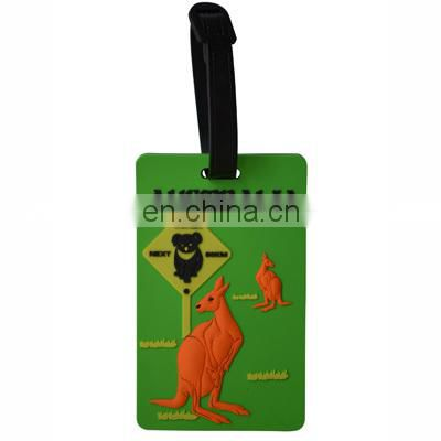 airline paper baggage tag pvc luggage tag