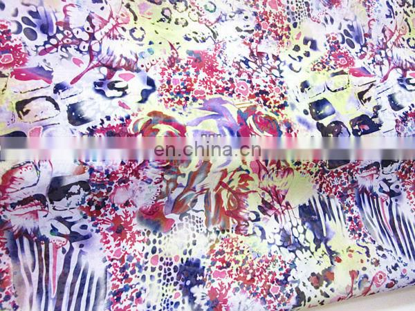 2014 New Fashion Waterproof Polyester Spandex Fabric, 4 Way Stretch Fabric, Wholesale Lycra Fabric Spandex For Garment