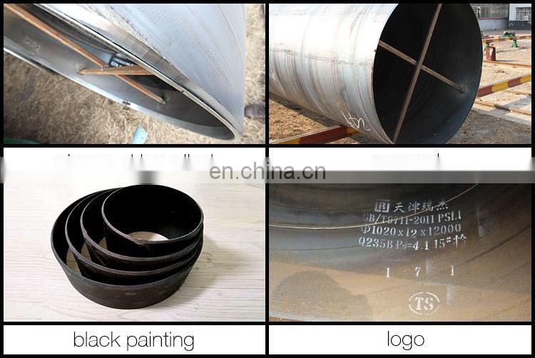 astm spiral welded carbon welded 24 inch steel pipe hot rolled spiral steel pipe