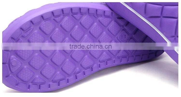 New fashion Eva upper winter garden shoes,plastic clogs and sandal for warm slippers