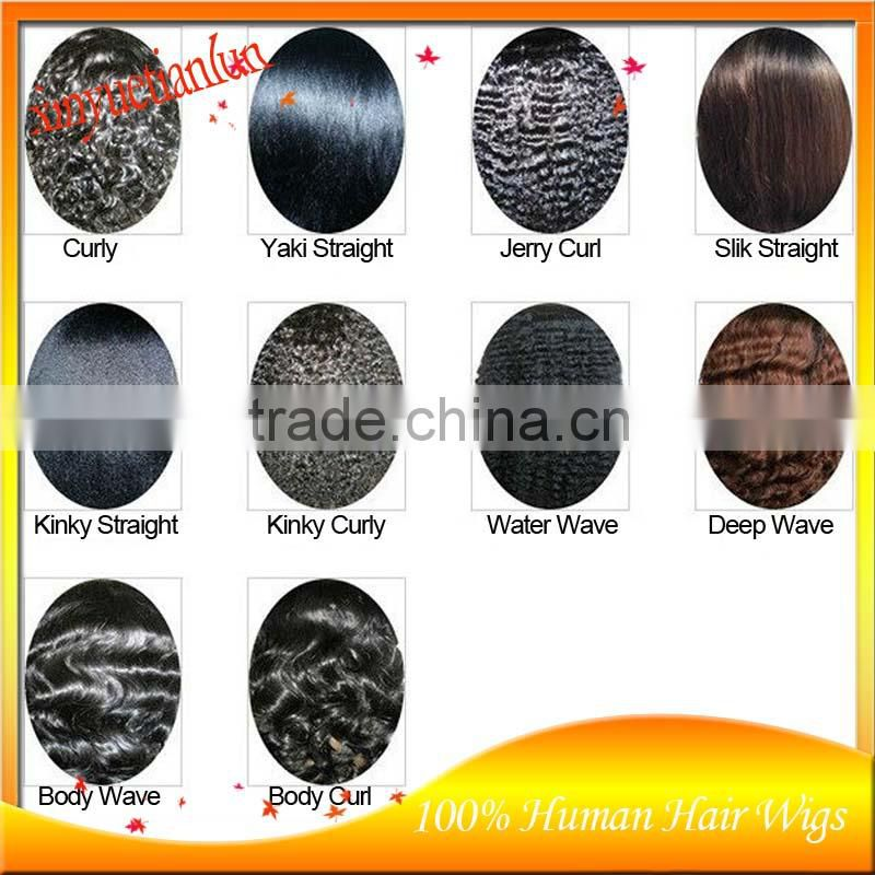 new product! Facotry Price #1b Kinky Curly Full Lace Human Hair Wigs Brazilian Virgin Human Hair Lace Front Wigs For Black Women