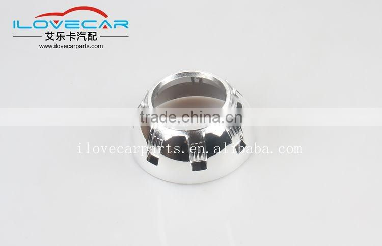 latest projector cover/shroud/mask for 3inch Bi xenon projector lens/ hid xenon kit for car light retrofit
