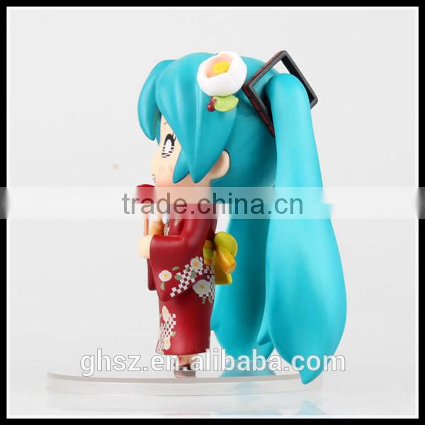 Wholesale factory price smile nendoroid yukata hatsune miku model